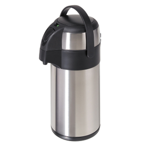 Oggi Stainless Steel Push Action Pump Master Carafe