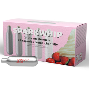 iSi Sparkwhip 24 Pack 7.5 Gram N2O Cream Chargers
