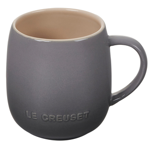 Le Creuset Cafe Collections Oyster Enameled Stoneware 13 Ounce Mug