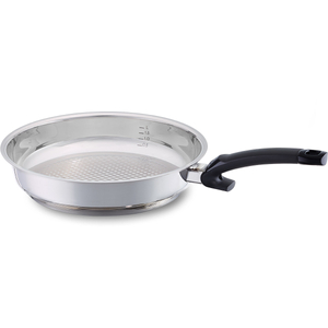 Fissler Stainless Steel Crispy Steelux 8 Inch Comfort Fry Pan
