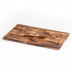 Kalmar Home Acacia Wood Extra Large Cheese Board with Knife