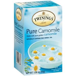 Twinings Herbal Pure Camomile Tea, 20 Count