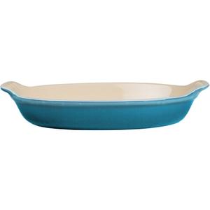 Le Creuset Heritage Caribbean Stoneware Petite Au Gratin Dish, 6 Ounce