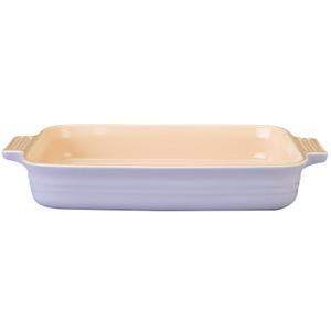 Le Creuset Lilac Stoneware Rectangular Baking Dish, 3 Quart