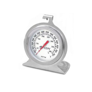 CDN Stainless Steel High Heat Oven Thermometer