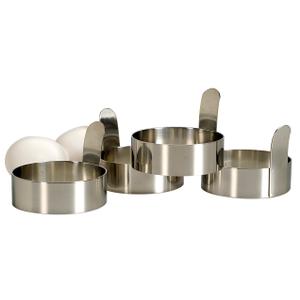 Endurance Stainless Steel Egg Rings Set of 4