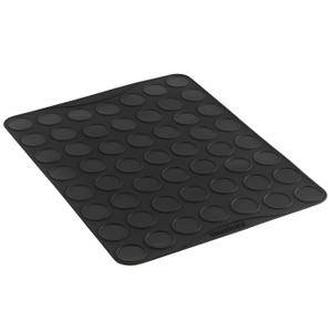 Orka Black Silicone Small Macaron Baking Sheet