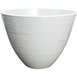 Zak Designs Small Silver Melamine Serving Bowl