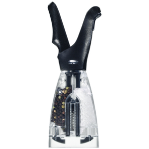 Chef'n Black Dual Salt and Pepper Grinder