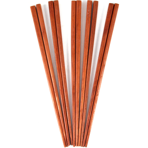 Brown Wooden Chopsticks, Set of 5