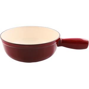 Swissmar Lugano Cherry Red Enameled Cast Iron Replacement Fondue Pot