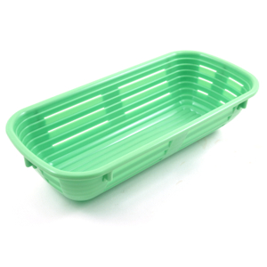 Scandicraft Green Rectangular Plastic Bread Proofing Bowl, 2 Cup
