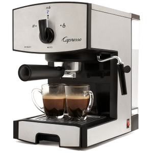 Capresso EC50 Stainless Steel Espresso and Cappuccino Machine