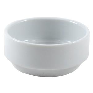 Turgla Round White Porcelain Ramekin, Set of 12