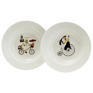 Oneida Gourmet Chefs-to-Go Stoneware Bowl, Set of 2
