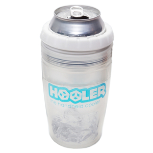 Hooler Double Walled Polypropylene Beverage Cooler with White Ring