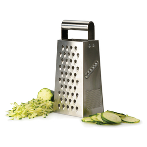 RSVP Endurance Stainless Steel 9.25 Inch Box Grater