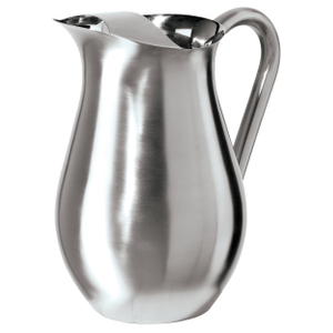 Oggi Stainless Steel Pitcher with Ice Guard, 2 Liter