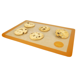 Mrs. Anderson's Baking Brown Silicone 11.6 x 16.5 Inch Baking Mat