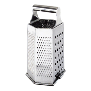 Cuisipro Stainless Steel 6 Sided 9.5 Inch Box Grater