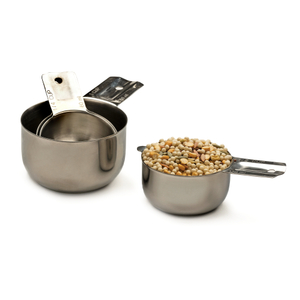 Endurance Stainless Steel 4 Piece Nesting Measuring Cup Set
