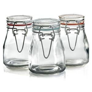 Grant Howard Round 3.5 Ounce Spice Jar, Set of 6