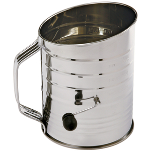 Norpro Stainless Steel 5 Cup Flour and Powdered Sugar Sifter