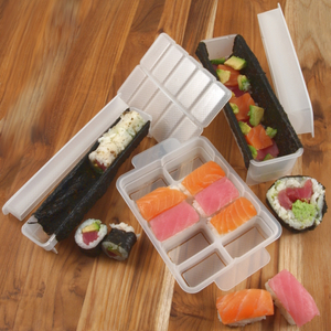 Kai Pure Komachi 3 Piece Super Sushi Mold Set
