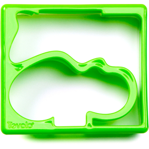 Tovolo Green Hippo and Alligator Sandwich Shaper