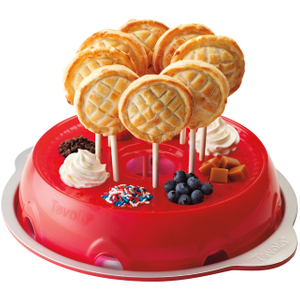 Tovolo Red Pie Pops Baking Kit