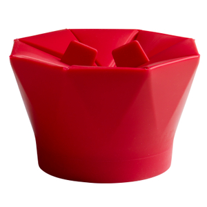 Chef'n PopTop Cherry Silicone Popcorn Popper