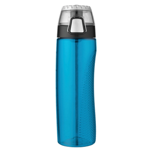 Thermos Teal Eastman Tritan 24 Ounce Hydration Bottle with Rotating Meter on Lid