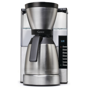Capresso MT900 10 Cup Rapid Brew Coffee Maker with Stainless Steel Carafe