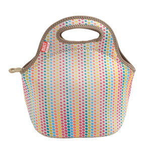 Built NY Gourmet Getaway Candy Dot Lunch Tote