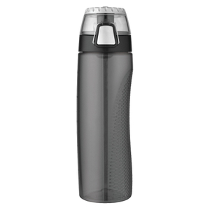 Thermos Smoke Grey Eastman Tritan 24 Ounce Hydration Bottle with Rotating Meter on Lid