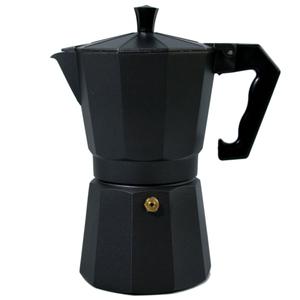 Mexican Fiesta Black Coffee and Espresso Maker, 6 Cup
