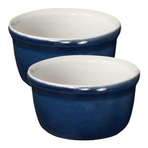 Emile Henry Twilight Ceramic 7 Ounce Ramekin, Set of 2