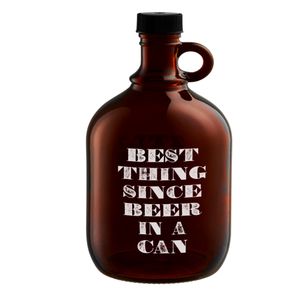 "Artland Barkeep 64 Ounce ""Best Thing Since Beer in a Can"" Beer Growler"