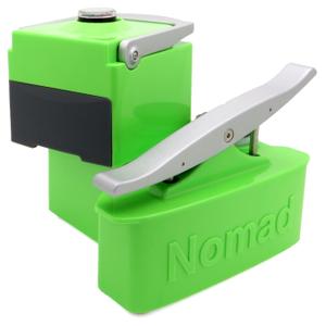 Nomad Luminescent Green Portable Espresso Machine