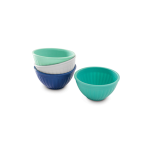 Nordic Ware 4-Piece Mini 1 Cup Prep & Serve Bowl Set