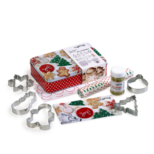 Lekue Christmas Cookie Making and Decorating Kit