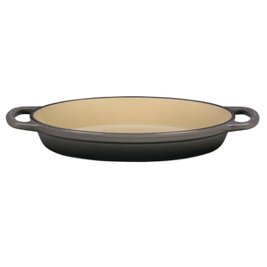 Le Creuset Signature Oyster Enameled Cast Iron 1 Quart Oval Baker