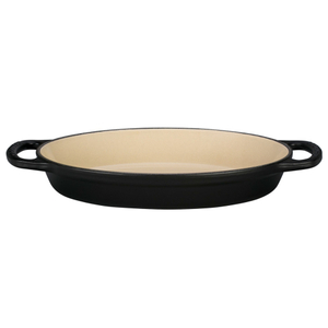 Le Creuset Signature Matte Licorice Enameled Cast Iron 1 Quart Oval Baker