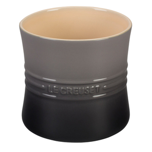 Le Creuset Oyster Stoneware 2.75 Quart Utensil Crock