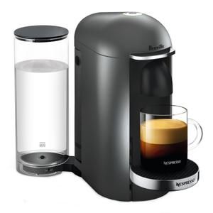 Breville Nespresso VertuoPlus Deluxe Titan Espresso and Coffee Machine