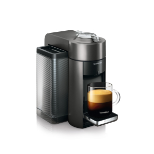 DeLonghi Nespresso Vertuo Graphite Metal Coffee and Espresso Machine