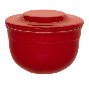 Emile Henry Burgundy Ceramic 7 Ounce Butter Pot
