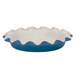 Rose's Levy Beranbaum Bayberry Ceramic 9 Inch Perfect Pie Plate