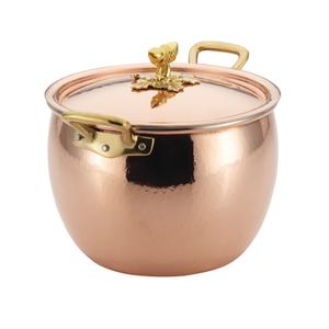 Ruffoni Historia Décor Copper 7.5 Quart Covered Stockpot