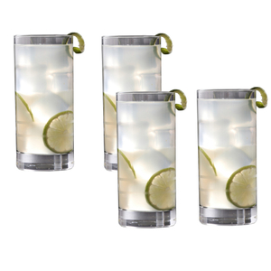 Crafthouse by Fortessa Schott Zwiesel Tritan Iceberg 16.2 Ounce Collins Glass, Set of 4